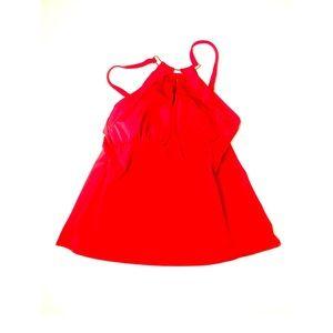 Ruby ribbon swim tank